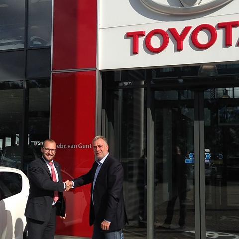 Toyota van Gent (Ede en Veenendaal) sluit samenwerking Rittenmeester